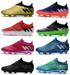 d1f7be65dc0516 2018 New Men s X 17+ Purechaos FG Soccer Cleats Messi 16 Pureagility FG AG Soccer  Shoes Top Quality Soccer Boots Cheap Football Shoes messi new shoes for ...