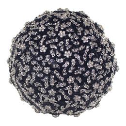 Bouquets de mariage personnalisés en Ligne-L'assurance de la qualité Durable Lourd Strass Plein Bouquet de Mariée Noire Personnalisé Luxious Diamant Broche Bouquet pour le Mariage W999