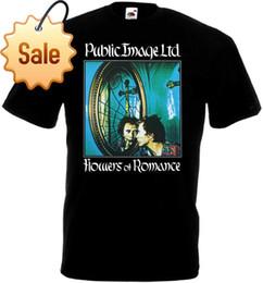 Canada Public Image Ltd. - Fleurs de Romance v2 noir toutes tailles S ... 5XL Impression Drôle T Shirts Hommes T-shirts à manches courtes Offre