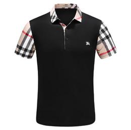 ed65718cc672b Nouvel été célèbre marque garçons haute impression Polo Shirt T-shirt à manches  courtes revers chemise broderie hommes   5512 promotion t-shirt imprimé  pour ...