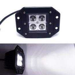 Светодиодный объектив pmma онлайн-3 Дюймов 12 Вт Автомобиля Светодиодные Вождения Рабочий Свет Линзы PMMA Внедорожный Прожектор Прожектор DRL для Грузовых Автомобилей 4x4 DC12-24V # 1058
