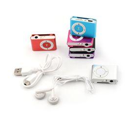 36840143b NUEVO Gran promoción Espejo Reproductor portátil de MP3 Mini Clip  Reproductor de MP3 impermeable música deportiva walkman lettore mini  reproductor de mp3 ...