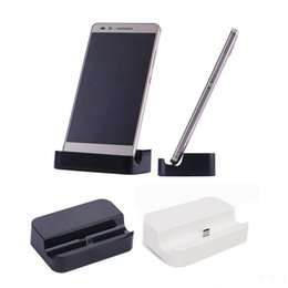 Wholesale S4 Cradle - Micro USB Data Sync Desktop Charging Cradle Charger Dock Stand Station For Samsung Galaxy S3 S4 S5 S6 S7 Edge HTC MQ30