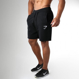 kurze jogger mens Rabatt PUNKOOL Shorts Männer Bermuda 2017 Lose Kurze Hosen Jogger Herren Shorts Jogginghose Fitness Mann Bodybuilding Baumwolle