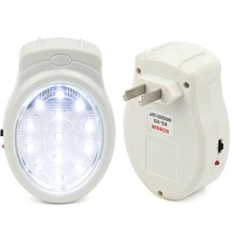 Canada 13 LED Rechargeable Accueil Urgence Automatique Panne d'Alimentation Panne Lampe de Noël Décoration de Noël Fournitures supplier automatic christmas light Offre