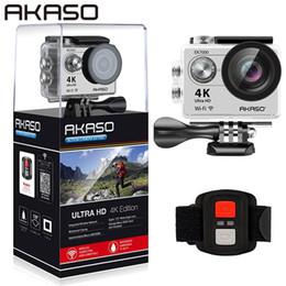 Canada AKASO EK7000 4K WIFI Caméra d'action sportive Ultra HD Caméscope DV étanche 12MP 170 degrés Grand Ange Sage / Argent supplier silver sage Offre