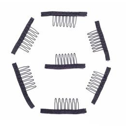 Outils pour faire des perruques en Ligne-1 peigne de perruque PC clips 7teeth pour le perruque et la perruque fabrication peignes outils extensions de cheveux