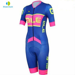 skins clothing Coupons - Women's Triathlon Short Cycling Jersey Skin suit triathlon suit One piece Bike Bicycle Ale Cycling Clothing Short Cycling Jersey