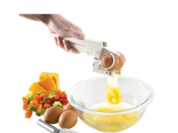 Wholesale Hand Clamp Tool - Egg Beater Creative Kitchen Tools Broken Eggs Manual Clamp Mixer