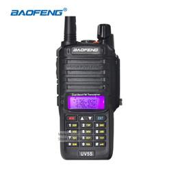 Wholesale handheld vhf ham radio - Baofeng UV-5S IP67 Waterproof Walkie Talkie Long Range Two Way Radio UHF VHF Handheld Ham Radio Comunicador Portable CB