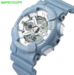 Marque sanda nouvelles montres à quartz de cow-boy montre électronique couple montres de mode montre de sport ? partir de fabricateur