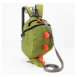 Wholesale Lunch Bag Backpack - New 3D Cartoon Dinosaur Baby Toddler Anti lost Leash Harness Strap Walker Baby Lunch Box Bag Kindergarten Schoolbag Backpack
