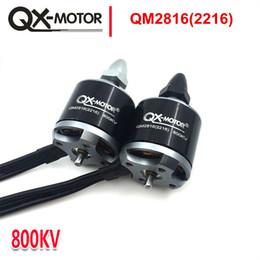 QX-MOTOR yüksekliği kaliteli QM2816 (2216) EMAX mt 2216 ile aynı Çoklu Helikopter Dört Helikopter için motor 810 / 1100KV CW CCW nereden boscam fpv tedarikçiler