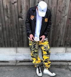 26f6bef52b mens yellow cargo pants Coupons - Newest Fashion Mens Camouflage Jogger  Pants Men Pants Loose Comfortable