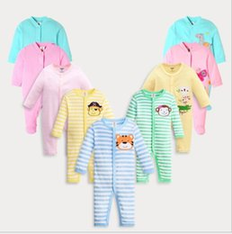 Wholesale kind sleeves - Children's clothing baby jumpsuit Children's cotton baby jumpsuit 30 kinds of fashion casual clothes to choose