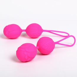 Kegel produtos para mulheres on-line-1 pcs Bolas Kegel Vaginal Bola Apertada Exercício Bolas Orgasmos Massagem Produtos Do Sexo Vibradores para As Mulheres bolas de celver