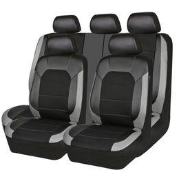 Al por mayor nueva llegada de calidad superior PU cuero sándwich conjunto completo cinco asientos azul gris accesorios del coche cubierta de asiento de coche para lada ford desde fabricantes