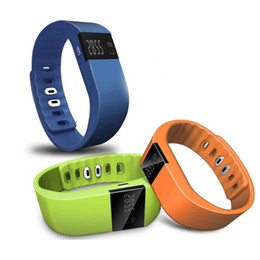 Wholesale apple iphone windows - Newest TW64 Fitness Tracker Bluetooth Smartband Sport Bracelet Smart Band Wristband Pedometer For iPhone IOS Android PK Fitbit