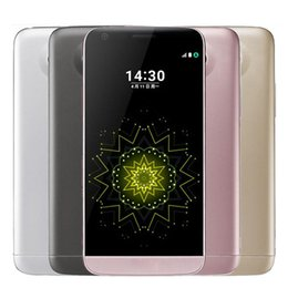Wholesale pink fingerprint - Refurbished Original G5 4GB RAM 32GB ROM 5.3inch Quad core 16MP Fingerprint 4G LTE Cell Phones