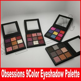 Wholesale Eyeshadow Palette Style - Beauty Eyeshadow Makeup 9 Colors obsessions matte Eye Shadow Beauty Palette Cosmetic smokey mauve electric warm brown 4 styles free ship
