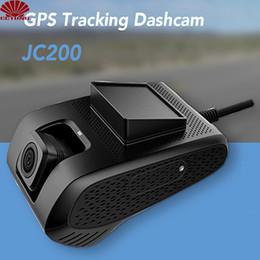 câmera de visualização ao vivo Desconto JC200 3G Smart Car GPS Tracking Dashcam com dupla câmera de gravação SOS Live Video View por Free Mobile APP para frota comercial