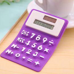 Argentina Calculadora científica de silicona de mano Calculadora de bolsillo plegable Calculadoras solares Científico para la reunión escolar Suministro
