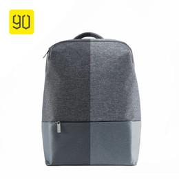 Wholesale City Single - Xiaomi 90 Fun City Simple Backpack Waterproof Female Leisure Mi Rucksack Daypack School Bag Duffel Bag For 14 Inch Laptop