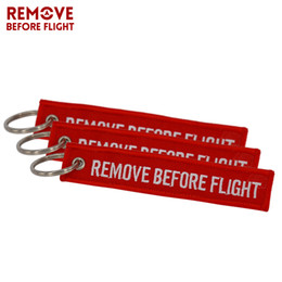 Discount flights cars - Remove Before Flight Aviation Gifts Key Tag Key Chain for Motorcycles Scooters and Cars Key Fobs OEM Keychain Jewelry