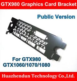 Wholesale Interface Graphics - Wholesale- New Arrivals gtx980 gtx1060 1070 1080 Graphics Card Bracket Public Version DP+DP+HDMI+DP+DVI Interface 12CM