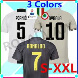 4c5a8db8b96 Discount cristiano ronaldo shirts - S- XXL 2018-19 JUVENTUS SOCCER JERSEY  HOME AWAY