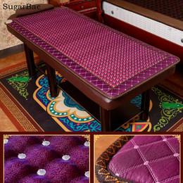 mayoristas de piedra Rebajas Centro de belleza Masaje cama Colchón de piedra para dormir Jade Infrarrojo lejano Turmalina colchón Mayorista 0.7X1.6M
