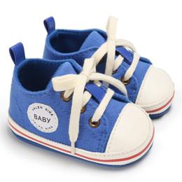 Chaussures pour enfants 2018 Chaussures bébé Bébés premiers marcheurs Chaussures Tollder en toile Chaussures à lacets Bébé Fille Sneaker Prewalker ? partir de fabricateur