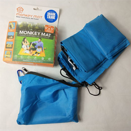 Wholesale camp clean - Monkey Mat Clean Portable Indoor Outdoot Picnic Cloth Pad Camp Nylon Blue Square Table Decoration Most Cheap 15rm V