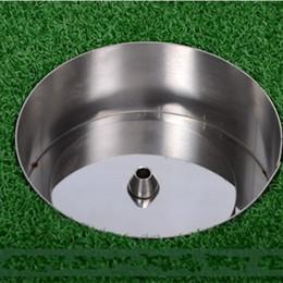 golf professionale Sconti Coppa buco da golf professionale in acciaio inossidabile 304 2cm 4cm Logo con impronta sportiva per il tempo libero Vendita calda 35xs WW