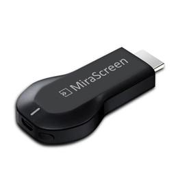 Usb stick tv receiver on-line-MiraScreen OTA TV Stick Dongle melhor que EZCAST EasyCast Receptor de Display Wi-Fi DLNA Airplay Miracast Airmirroring Chromecast