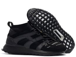 672d3263943e 2019 Men High Ankle Football Boots Predator Accelerator Ultra Boost Soccer  Shoes Predator Accelerator DB Ultraboost Soccer Cleats