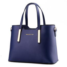 Sacs femme bleu marine en Ligne-AFBC top vente nouveau nouveau sacs femmes mode sacs à main sac à bandoulière Messenger sac marine bleu Y18102504