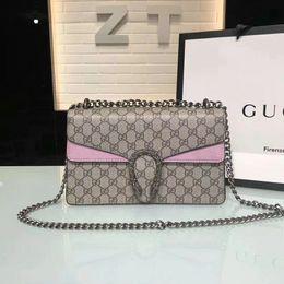 Wholesale Crochet Bags Purses - 2018 Hot Sale Fashion Women Shoulder Bag Chain Messenger Bag High Quality Handbags Wallet Purse Designer Cosmetic Bags Crossbody Bags Tote