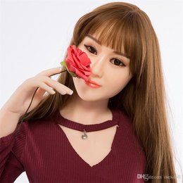 Wholesale Cheap Solid Sex Doll - Cheap Chinese Lolita Robot doll oral love doll realistic sex toys for men big breast sexy 153cm vagina adult dolls