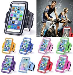 Nouveau 5.5 pouces cas de téléphone pour iPhone 8 7 6 s plus cas, brassard sport bande de bras couverture en cours d'exécution GYM sac cas ? partir de fabricateur