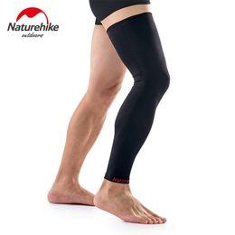 Wholesale Knee Support Leggings - Wholesale- Naturehike 1pc Calf Compression Knee Long Sleeve Leg Support Running Leggings Knee Sports Basketball Leggings