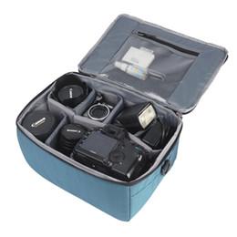 Argentina venta al por mayor grande a prueba de agua de la cámara proteger llevar bolsa insertar separadores de partición organizador para Canon Nikon Sony Pentax DSLR lente cheap wholesale organizers dividers Suministro