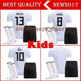 b2091178b0d 2018 Kinder Deutschland Fußball 2018 MÜLLER OZIL KROOS HUMMELS WERNER REUS  SANE Trikots camisetas de futbol Deutschland