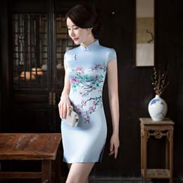 Descuento Seda Vestidos Pintados De Distribuidores SUVMzpq