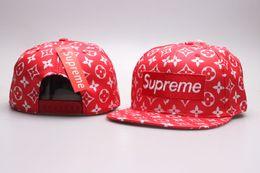 Wholesale bboy cap - Newest Design SUP hats Snapback hats 2018 5 plan sup New bboy Chapeu Men Women Outdoors Casquettes gorras bones baseball caps