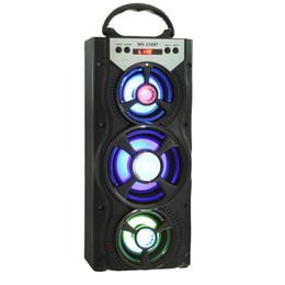 Argentina Redmaine MS - 220BT Altavoz portátil Bluetooth Radio FM AUX Multifuncional con 4 pulgadas de gran Ppeaker y elegante luz de fondo cheap colorful radios Suministro
