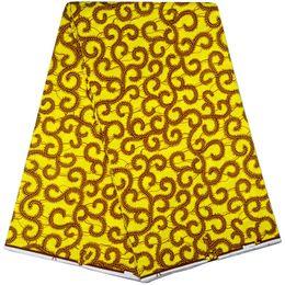 Wholesale High Quality Super Wax - New Design Guaranteed Dutch Wax African Veritable Super Wax Hollandais For Sewing Fabric Real Wax Hollandais 100% High Quality