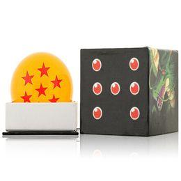 электрическое крыло rc Скидка Горячая анимация DragonBall 7 звезд хрустальный шар 7,6 см один комплект новый в коробке Dragon Ball Z полный комплект игрушки бесплатная доставка
