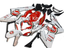 Wholesale Gsx K5 - 3 gifts+Seat cowl New Fairings Kits For SUZUKI GSXR1000 K5 05-06 GSXR 1000 GSX R1000 GSX-R1000 K5 05 06 2005 2006 Fairing White Red T6