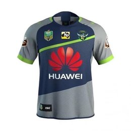 Wholesale Raiders Jerseys - 2018 NRL JERSEYS CANBERRA RAIDER S Away New Zealand RAIDER ADULT NRL Men Rugby Jersey Super Rugby 2017 Oakland home RAIDERDSD size s-3xL